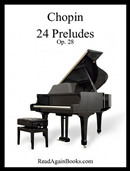 chopin preludes sheet music